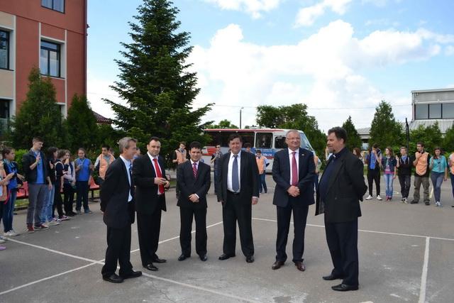 """""""Ministrul Educatiei Nationale, Remus Pricopie în vizita la Liceul """"Don Orione"""" Oradea"""","""
