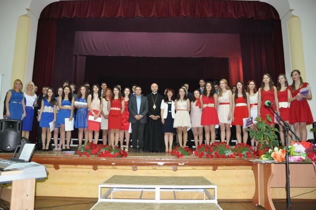 """Ultimul sunet de clopotel al claselor a XII-a la Liceul Greco-Catolic """"Iuliu Maniu"""" din Oradea,"""