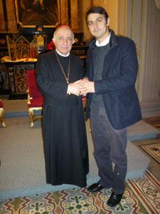 """""""Sunteti ADN-ul catolicismului"""" – Vizita la arhiepiscopul de Milano,"""