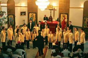 """""""Concert de colinde la Biserica Sfânta Treime, Nufarul, Oradea"""","""