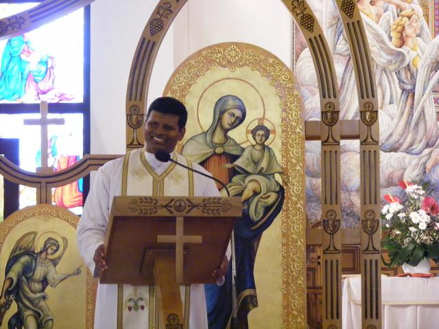 Reculegere spirituala cu pr. Anthony Saji la Oradea,