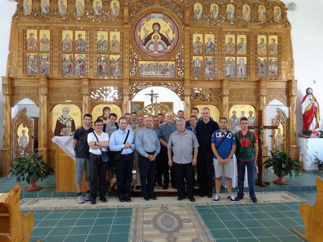 Vizita seminaristilor din Pavia la Oradea – Pe urmele marturisitorilor credintei,
