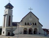 """Programul religios la Manastirea franciscana """"Adormirea Maicii Domnului"""" din Oradea cu ocazia serbarii hramului,"""