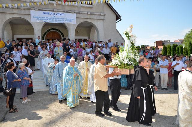 """Zile de har la Manastirea Franciscana """"Maica Domnului"""" din Oradea,"""