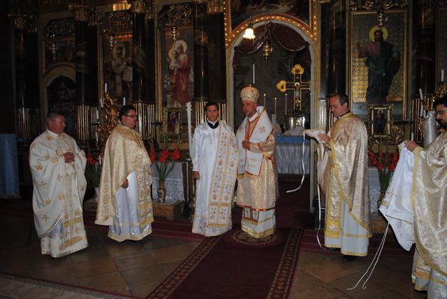 Hirotonire de preot în Catedrala Sfântul Nicolae din Oradea,