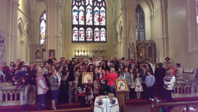 Misiune îndeplinita – ultima liturghie a parintelui Vasile Orghici la Dublin,