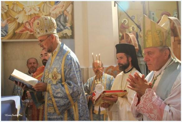 Ostiglia: Consacrata biserica dedicata ritului bizantin,