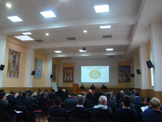 Zi de formare pentru preotii Eparhiei de Oradea si întâlnirea PS Virgil cu Preotii Protopopi ai Eparhiei de Oradea,