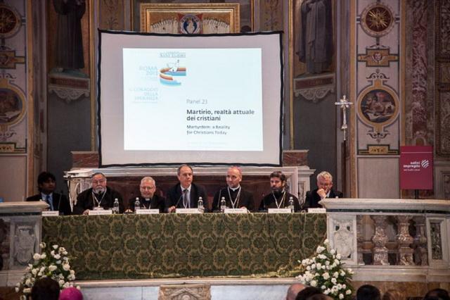 """""""Întâlnirea internationala """"Curajul sperantei"""" – religii si culturi în dialog, organizata de Comunitatea """"Sant'Egidio"""" la Roma"""","""