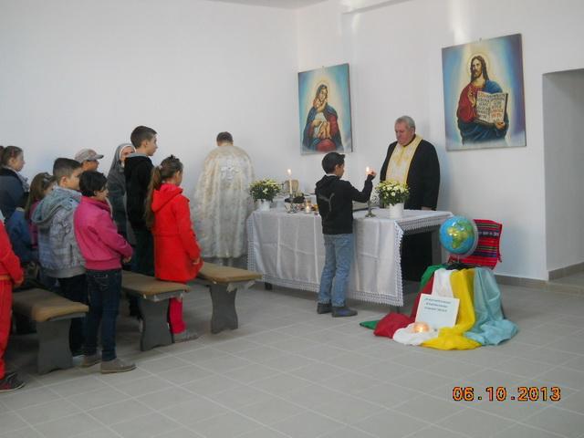 "Inaugurarea si sfintirea Oratoriului ""Ep. Ioan Suciu"" la Beius,"