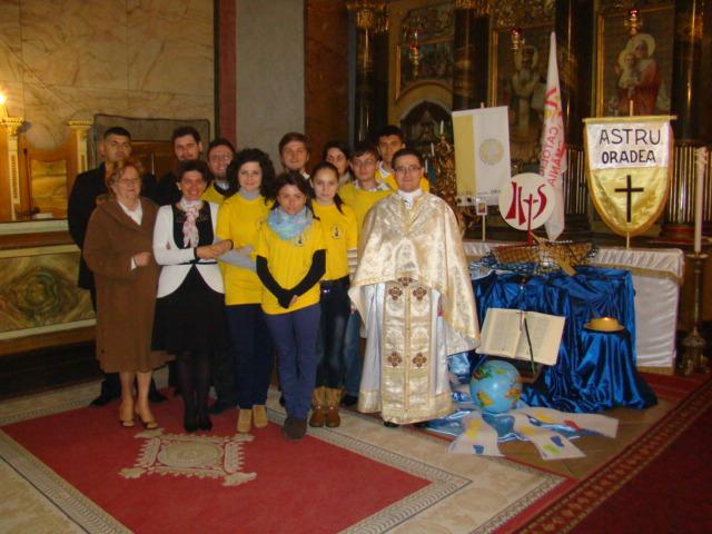 Deschiderea zilelor Actiunii Catolice în Eparhia de Oradea,