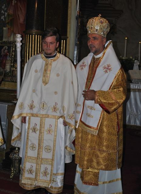 Hirotonire de ieromonah în Catedrala Sf. Nicolae din Oradea,