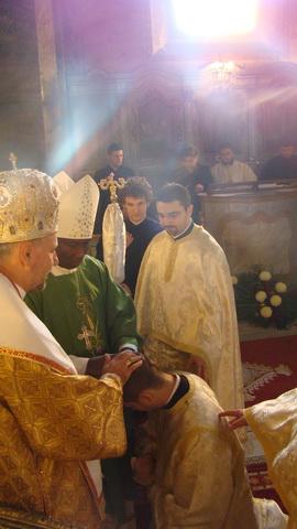 Hirotonire de diacon in Biserica Seminarului,