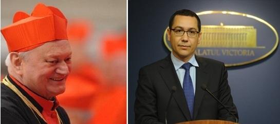 """""""Comunicat: Premierul Ponta, solicitat de Cardinalul Lucian Muresan sa condamne public actele de agresiune si incitare la ura interconfesionala împotriva calugarilor greco-catolici prezenti la Bixad"""","""