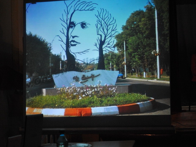 """Mihai Eminescu – comemorat la Liceul Greco-Catolic """"Iuliu Maniu"""" Oradea,"""
