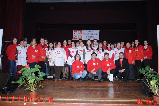 Ziua voluntarului Caritas,