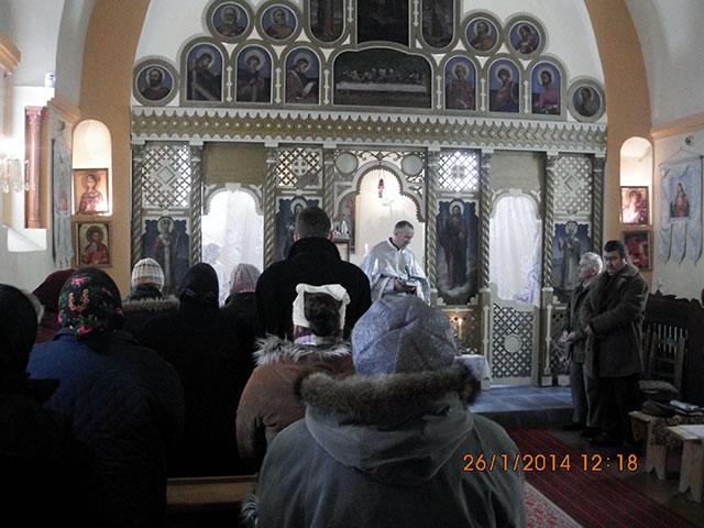Rugaciune ecumenica la Gruilung,
