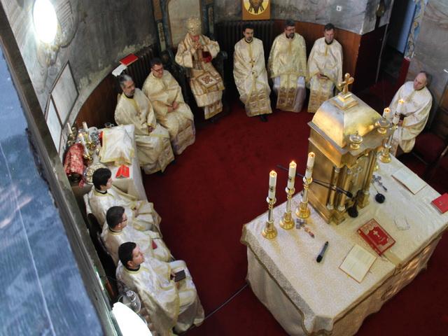 """""""Hramul Seminarului """"Sfintii Trei Ierarhi Vasile, Grigore si Ioan"""" din Oradea"""","""