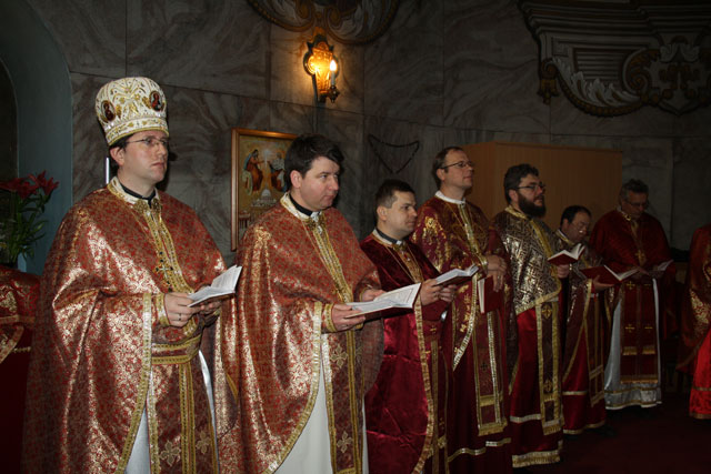 Vizita protopopilor din Prešov în Episcopia de Oradea,