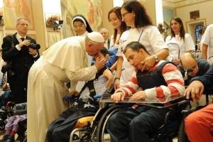 Mesajul Sfântului Parinte Papa Francisc pentru a XXII-a Zi Mondiala a Bolnavului 2014,