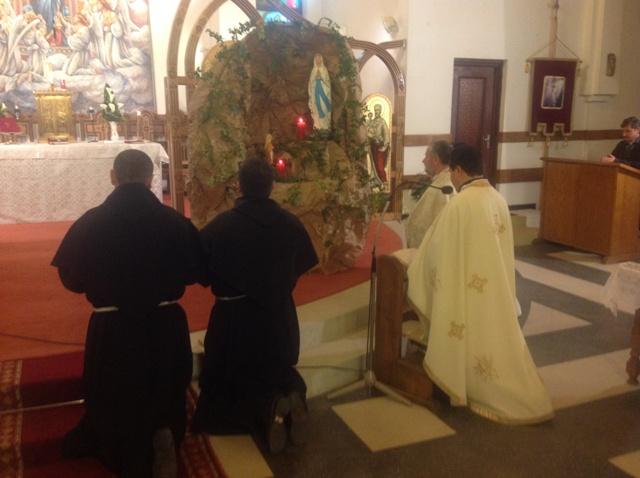A XXII-a Zi Mondiala a Bolnavului celebrata la Manastirea Franciscana Maica Domnului din Oradea,