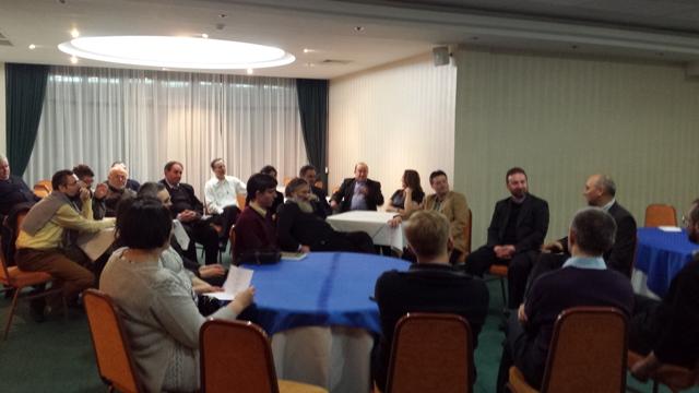Reuniunea corpului profesoral si personalul didactic auxiliar al Facultatii de Teologie Greco-Catolica,