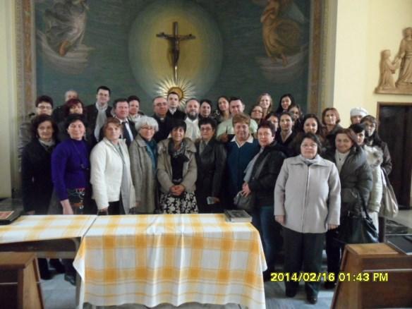 Prezentarea Episcopilor martiri în Parohia Flaminia-Euclide-Roma Nord,