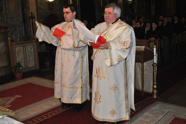 Hirotonire de diaconi în Biserica Seminarului din Oradea,