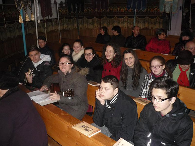 """""""Seara de rugaciune în parohia Bocsa, judetul Salaj"""","""