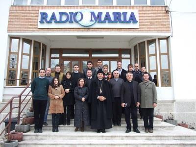 Întâlnirea Operatorilor Media Catolici la sediul Radio Maria,