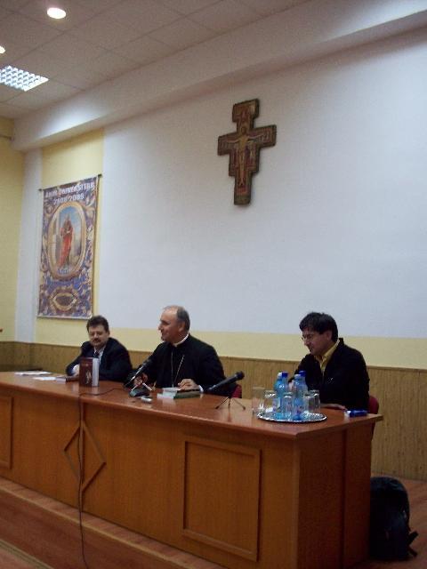 """Lansarea traducerii """"Evanghelia dupa Ioan"""" realizata de Cristian Badilita,"""