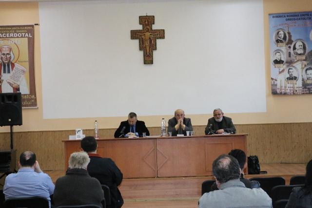 Lansare de carte la Seminarul greco-catolic din Oradea,