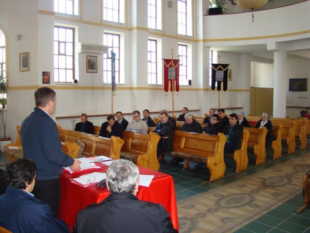 Vizita Biroului Pastoral Eparhial pentru laici în protopopiatele Eparhiei de Oradea,