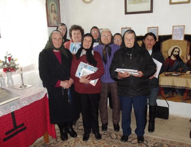 Reînfiintarea Reuniunii Mariene la Voivozi,