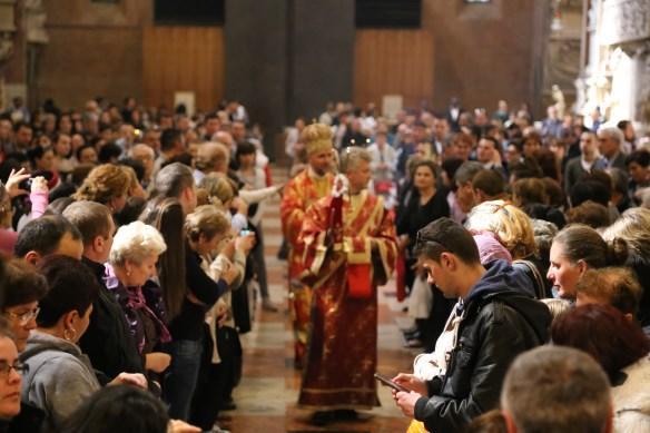 Traditionalul pelerinaj al greco-catolicilor din Italia la moastele Sfântului Anton de Padova,