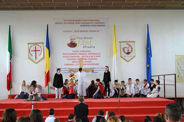 Sarbatoarea Pastelui în familia Don Orione din Oradea,