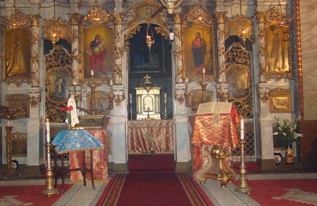 Adoratie Euharistica nocturna în Biserica Seminarului din Oradea,