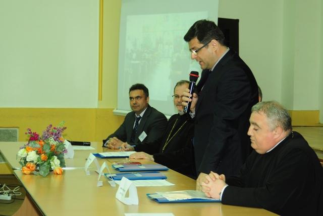 """""""Cuvântul inspectorului general al ISJ Bihor, Prof. Daniel Nergean, la deschiderea Olimpiadei nationale de religie catolica la Oradea"""","""