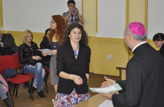 Rezultatele Olimpiadei nationale de religie catolica desfasurata în perioada 9-11 aprilie la Oradea,