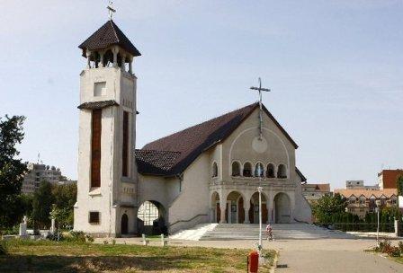 """Programul Slujbelor religioase din preajma Sarbatorii Învierii Domnului la Parohia """"Adormirea Maicii Domnului"""" Oradea (Manastirea Franciscana),"""