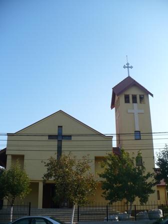 """Programul Slujbelor Religioase din preajma Sarbatorii Învierii Domnului  la Parohia """"Duminica tuturor Sfintilor"""" Oradea (Don Orione),"""