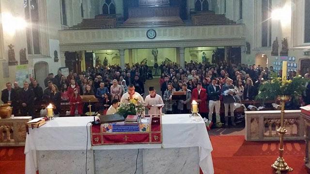 Sarbatoarea Învierii Domnului la Dublin,