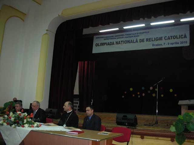 Prima Olimpiada nationala de religie catolica a avut loc la Oradea,