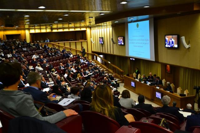 "România la Conferinta internationala organizata de Fundatia ""Centesimus Annus Pro Pontefice"" în Vatican,"