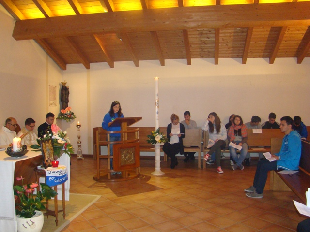 Delegatia româna greco-catolica la pregatirea Campusului Ecumenic International de la Loreto,