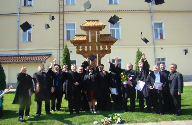 """""""Cursul festiv la Facultatea de Teologie Greco-Catolica din Oradea, promotia 2014"""","""