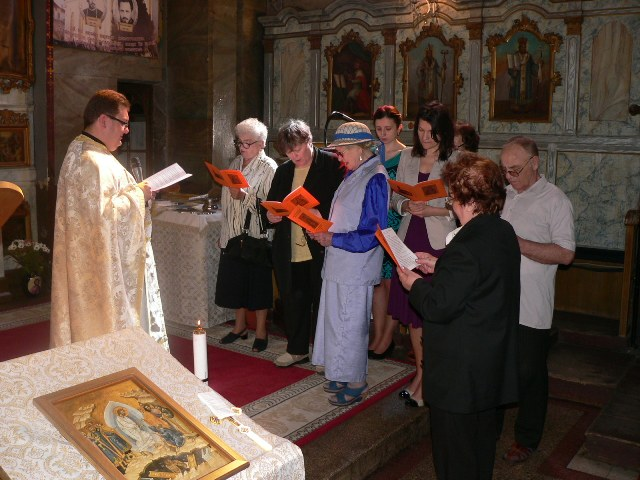 Reînfiintarea Reuniunii mariane  în Parohia-Greco-Catolica Olosig Oradea,