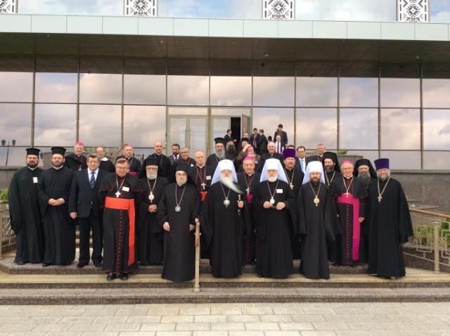 """PS Virgil Bercea la cel de-al IV-lea Forum Ortodox-Catolic, Minsk, 2-6 iunie 2014"","