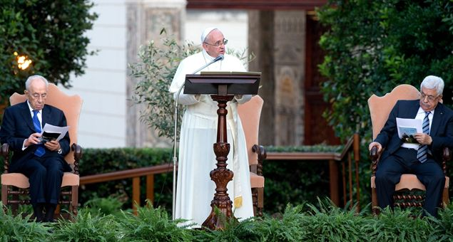 Discursul Sfântului Parinte Papa Francisc la întâlnirea pentru Invocarea pacii cu presedintii israelian si palestinian si cu Patriarhul ecumenic Bartolomeu I,