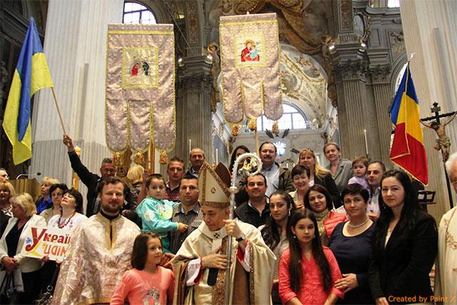 """Sarbatoarea diecezana a emigrantilor catolici la Udine, Italia"","